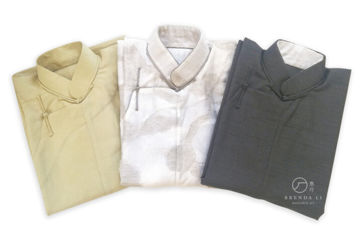 男裝長衫理想摺疊法